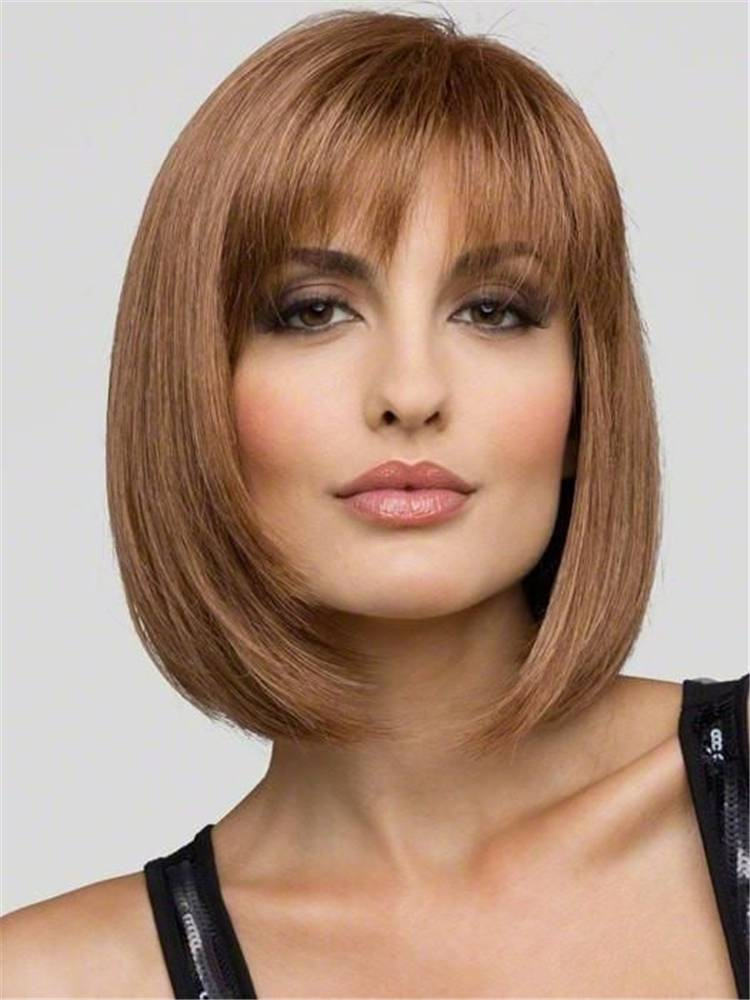 Charming And Gorgeous Bob Haircuts And Hairstyles With Bangs; Bob Haircuts; Bob Hairstyles; Bob Hair; Bob Hairstyle With Bangs; Bangs; Fringe; Bob Hairstyle With Fringe; Bob Haircuts With Fringe; Hairstyles; Haircuts; #haircut #hairstyle #Bobhairstyle #bobhaircut #bobhairwithbangs #fringe