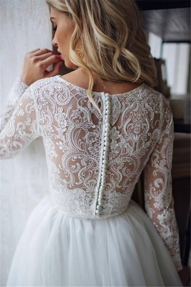 Gorgeous And Charming Fall/Winter Wedding Dresses You Would Love To Have; Gorgeous Wedding Dress; Breath Taking Wedding Dress; White Wedding Dress; Brand Wedding Dress; Off The Shoulder Lace Wedding Dresses; Lace Long Sleeves Wedding Dress; Fall Wedding Dress; Winter WeddingDress;#winterdress#winterweddingdress#weddingdress#fallweddingdress