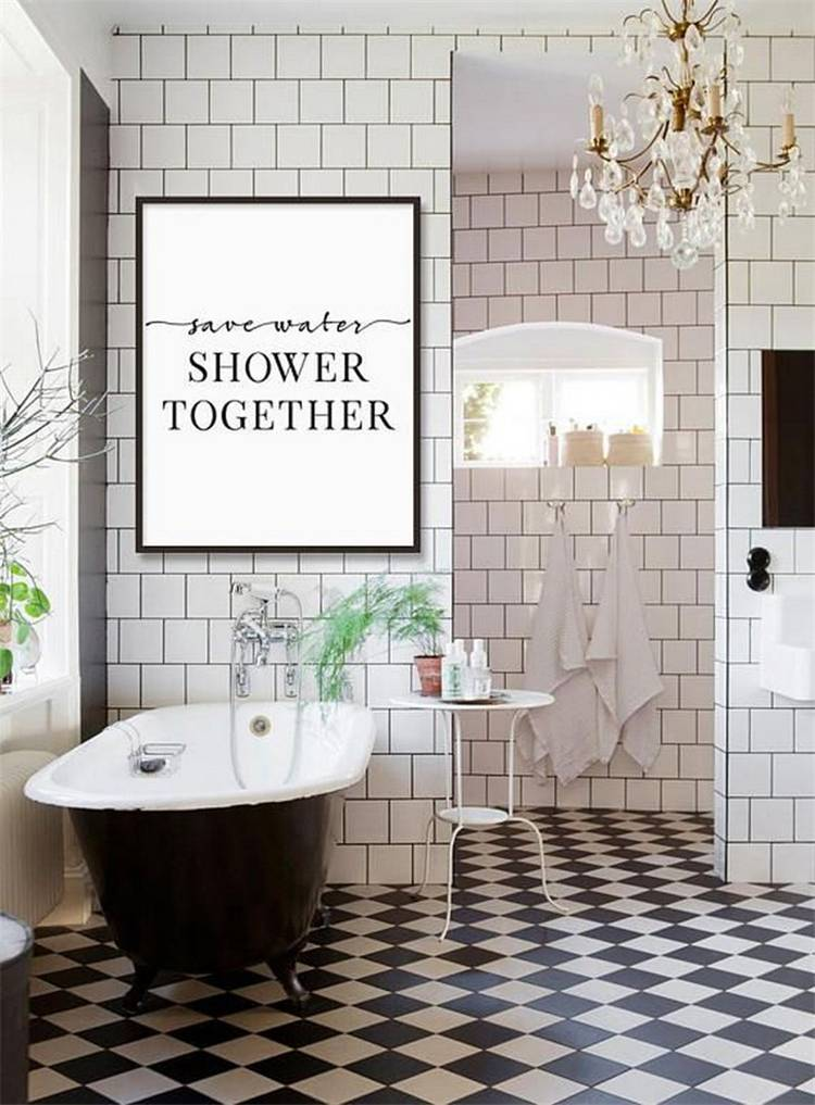 55 Chic And Modern Farmhouse Master Bathroom Decor Ideas You Would Want To Have Women Fashion Lifestyle Blog Shinecoco Com