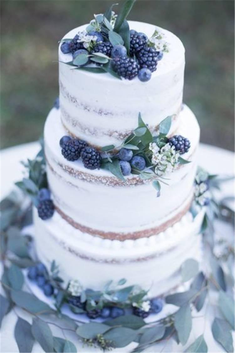 Beautiful Wedding Cakes Ideas For Your Big Day; Wedding Cakes; Floral Wedding Cakes; Floral Cakes; Romantic Cakes; #weddingcake #floralweddingcake #cake #weddingart