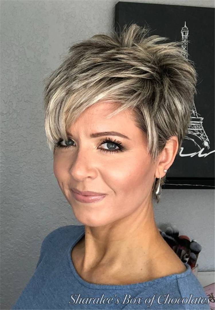 Sweet And Stylish Short Pixie Haircuts Or Hairstyles You Should Try This Year; Pixie Hairstyles; Pixie Haircuts; Pixie Haircuts Or Hairstyles For You; Haircut; Hairstyle; Stylish Haircut; Stylish Hairstyles; #pixiehaircut #pixiehairstyle #shortpixie #shortpixiehair #stylishhair #stylishhairstyle