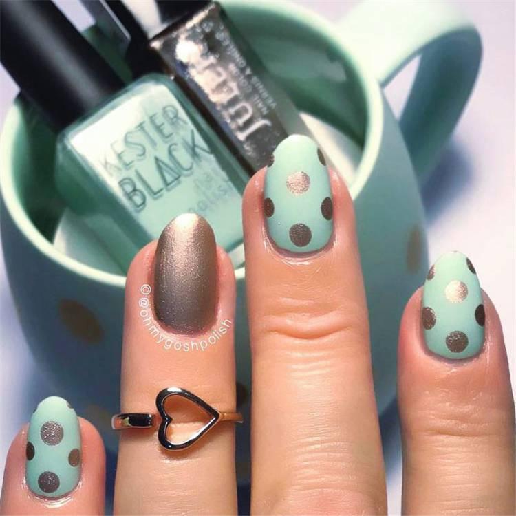 Gorgeous And Lovely Spring Nail Designs You Would Love; Spring Nails; Lovely Nails; Nails; Square Nails; Nail Design; Flower Nails; #nails #springnail #flowernails #squarenail #naildesign