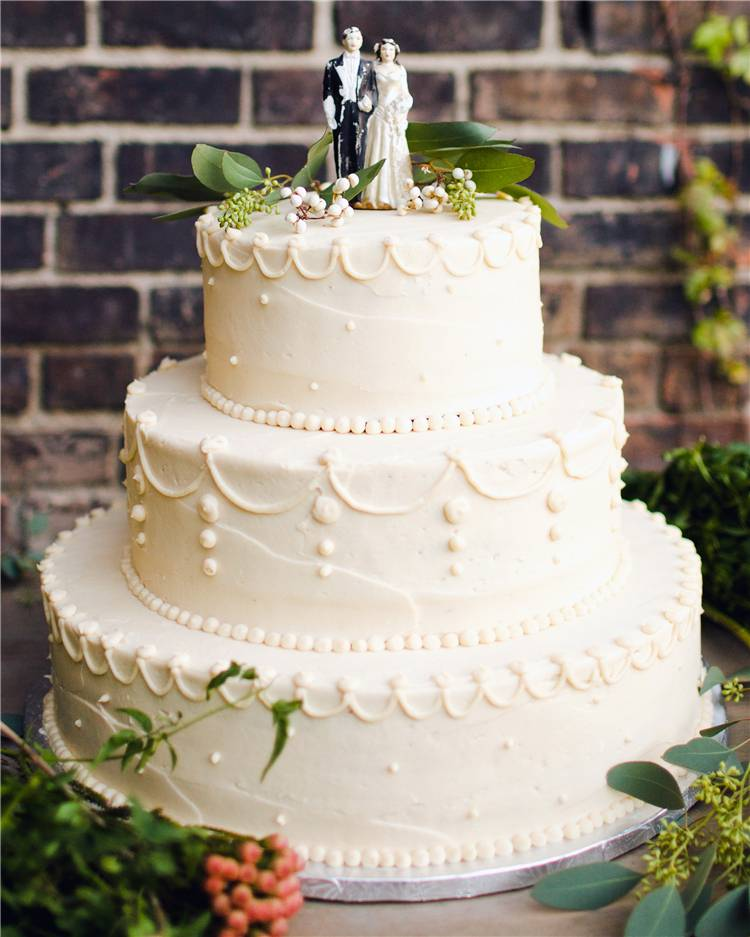 Gorgeous Wedding Cakes For Your Inspiration; Wedding Cakes; Floral Wedding Cakes; Floral Cakes; Romantic Cakes;#weddingcake#floralweddingcake#cake#weddingart