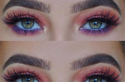 Stunning And Gorgeous Summer Makeup Ideas For Your Inspiration In 2020; Makeup Ideas; Makeup; Summer Makeup; Summer Makeup Ideas; Colorful Makeup; Shimmer Makeup; Eye Makeup #makeup #eyemakeup #summermakeup #makeupidea