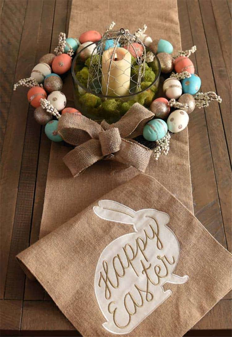 How To Make Your Easter Table Centerpiece Incredibly Stylish And Inspiring; Home Decor; Holiday Decor; Table Decor; Easter; Easter Decor; Easter Table; Easter Table Deocr; Table Centerpiece; Easter Table Centerpiece; Easter Egg; Easter Bunny #Easter #Easterdecor #easterholiday #easteregg #easterbunny #eastertable #tablecenterpiece