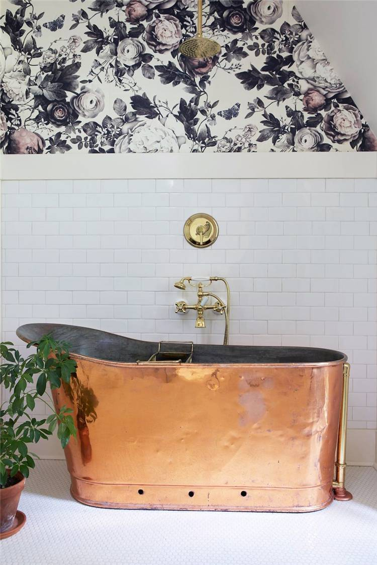 Bathroom Design Ideas Which You Would Love To Stay In Your Tub; Bathroom Design; Home Decor; Home Design; Bathroom Ideas; Bathroom Decor #homedecor #homedesign #bathroom #bathroomdesign #bathroomdecor