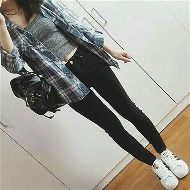 Gorgeous Spring Outfits For Teens Back To School; Spring Outfits; Outfits; Teen Outfits; Teen Girl Outfits; School Outfits; #outfits #springoutifts #schooloutfits #teengirloutfits