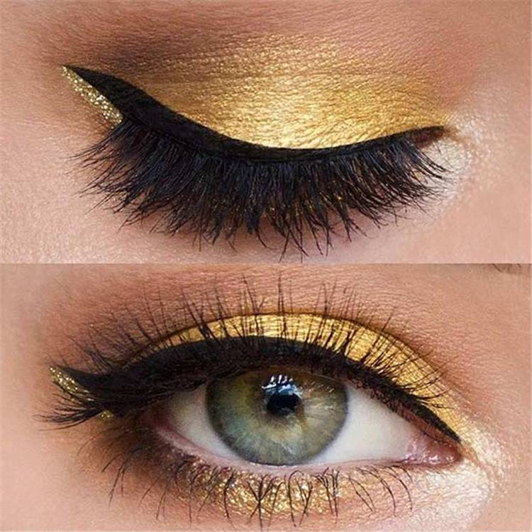 Easy And Gorgeous Eye Makeup Ideas To Rock Summer Parties; Eye Makeup; Makeup; Summer Makeup; Party Makeup; Prom Makeup; #makeup #eyemakeup #summermakeup #summereyemakeup