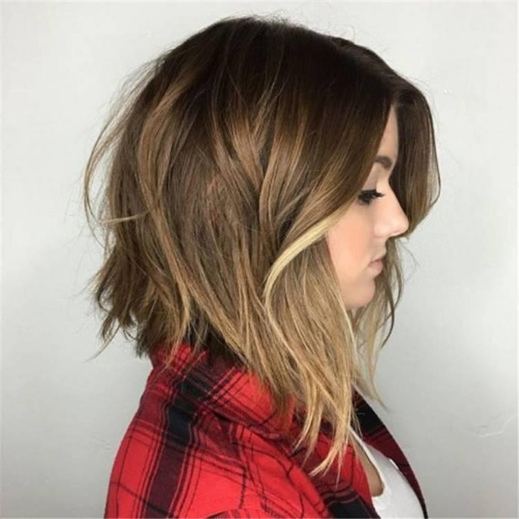 20 Trendy Lob Haircut Ideas To Make You Look Stylish Women Fashion Lifestyle Blog Shinecoco Com