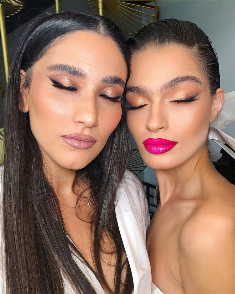 Natural Makeup Trends You Should Know In 2020; Makeup Looks; Makeup Ideas; Natural Makeup; Natural Makeup Looks; Seasonal Makeup Looks; Makeup Trends #makeup #makeuplooks #naturalmakeup #naturalmakeuplooks