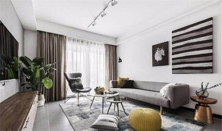 90㎡ Nordic Style Decoration With Classic Minimalist Black And White; Apartment Decor; Home Decor; Scandinavian Style; Light Luxury Furniture; Minimalist Decor #homedecor #apartmentdecor #scandinavianstyleapartment #minimalistdecor
