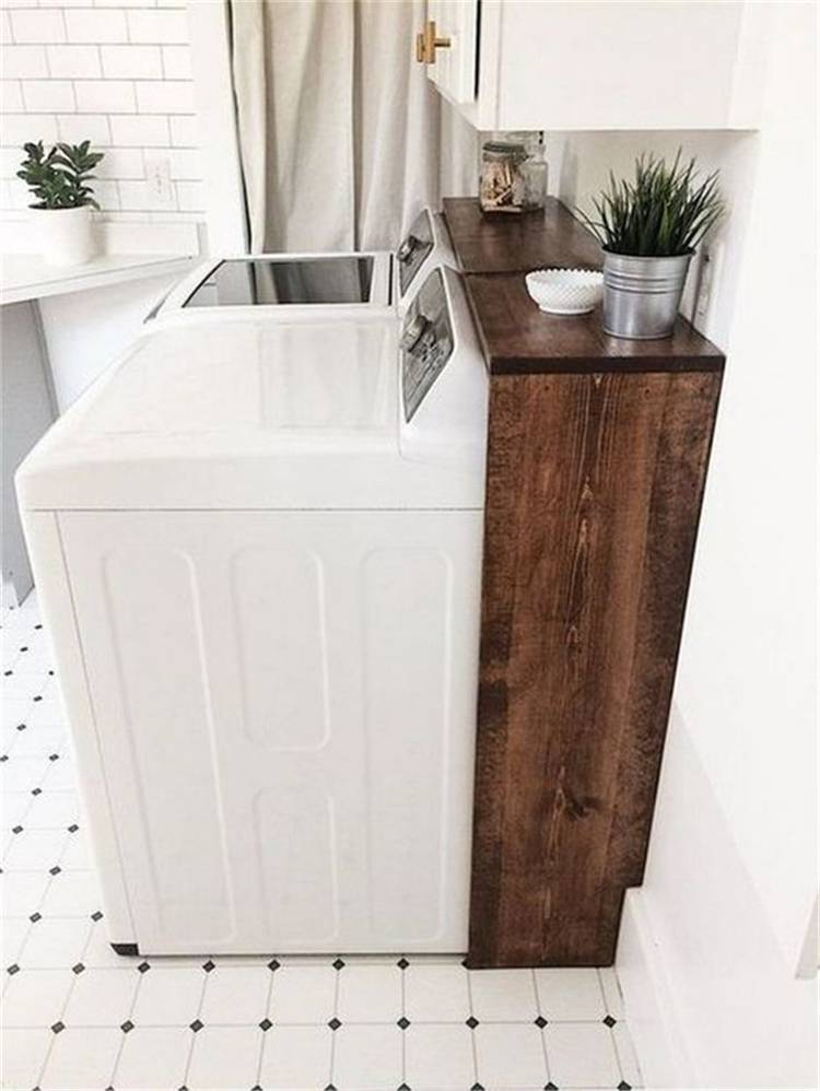 Small Laundry Room Decoration Ideas For You; Small Laundry Room; Laundry Room; Laundry Room Decoration; Small Laundry Room Decoration; Home Decor; Laundry Room Decor; Small Laundry Room Decor;Smart Laundry Room Arrangement Ideas To Save Your Space #laundry #laundryroom #laundryroomarrangement #laundrydecor #smalllaundryroom