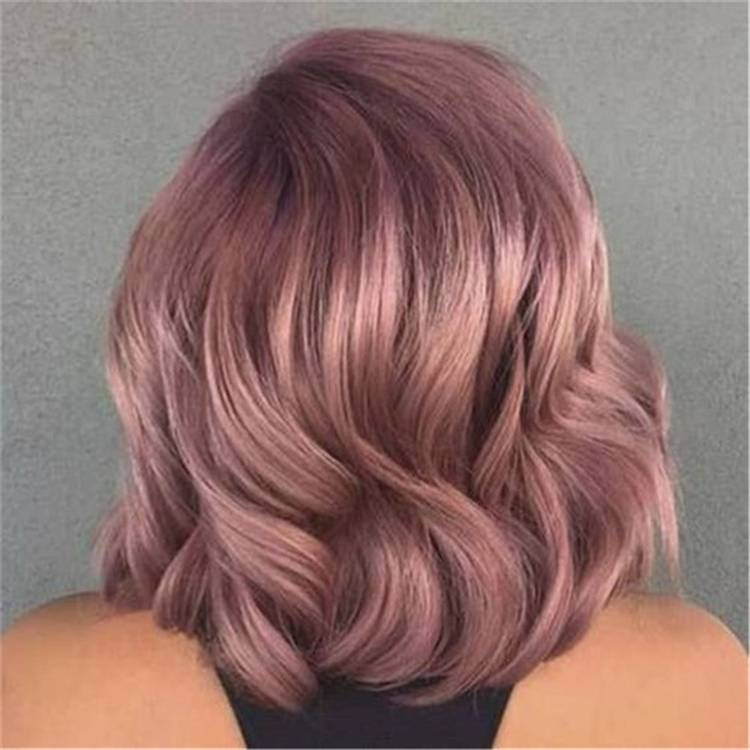 Pretty And Stunning Rose Gold Hair Color & Hairstyles For Your Inspiration; Rose Gold Hair; Rose Gold Hair Color; Rose Gold Hair Color Ideas; Gorgeous Hair; Hairstyles; Rose Gold; Rose Gold Fashion; Rose Gold Hairstyles; #rosegold #rosegoldhair #haircolor #hairstyle
