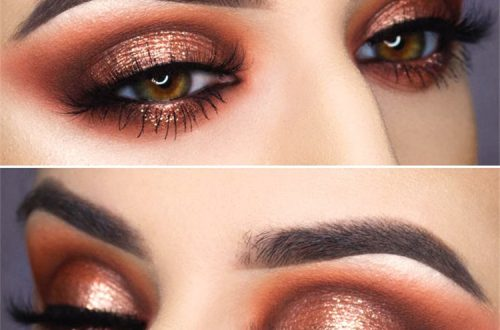 Perfect Eye Shadows Makeup Ideas For Different Eye Colors; Makeup Ideas; Makeup; Eye Shadow Makeup; Summer Makeup Ideas; Colorful Makeup; Shimmer Makeup; Eye Makeup #makeup #eyemakeup #summermakeup #makeupidea