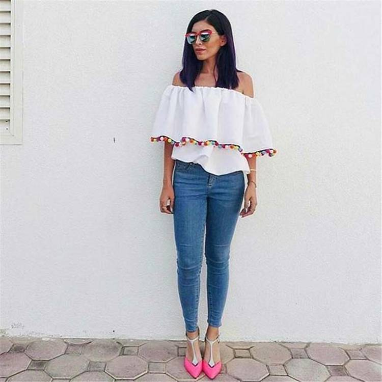 Gorgeous And Casual Summer Outfits For Your Inspiration; Summer Outfits; Casual Outfits; Outfits; Casual Summer Outfits; #summeroutfits #outfits #casualoutfits #summercasualoutfits