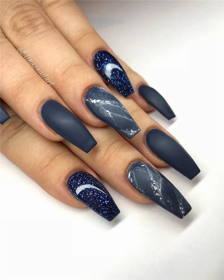 Best Coffin Nail Designs You Should Copy In 2020; Simple Nails; Coffin Nail; Coffin Nail Designs; Acrylic Coffin Nail Designs; Best Acrylic Coffin Nail; Holiday Nails;  #summernail #summercoffinnails #coffinnail #acryliccoffinnails #holidaynails #nails #naildesign