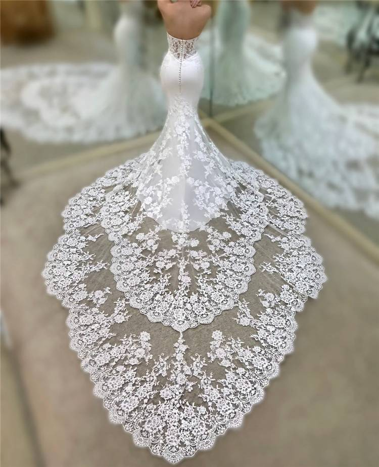 How To Pick Up The Right Wedding Dress For Your Big Day; White Wedding Dress; Brand Wedding Dress; Off The Shoulder Lace Wedding Dresses; Lace Long Sleeves Wedding Dress; Summer Wedding Dress; Gorgeous WeddingDress; Mermaid Wedding Dress; Princess Wedding Dress; #summerdress#mermaidweddingdress#weddingdress#gorgeousweddingdress