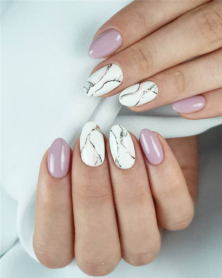 15 Fantastic Marble Nail Designs You Should Know Women Fashion Lifestyle Blog Shinecoco Com