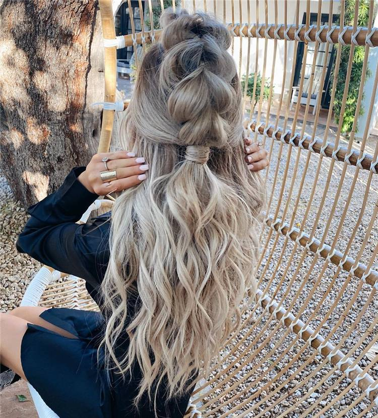 Gorgeous And Fresh Teenages Girls Hairstyles You Would Love; Hairstyle; Teen Hairstyle; Teenages Girls Hairstyles; Fresh Hairstyles; Braids Hairstyles; #hairstyles #teenhairstyles #freshhairstyles #braidshairstyle