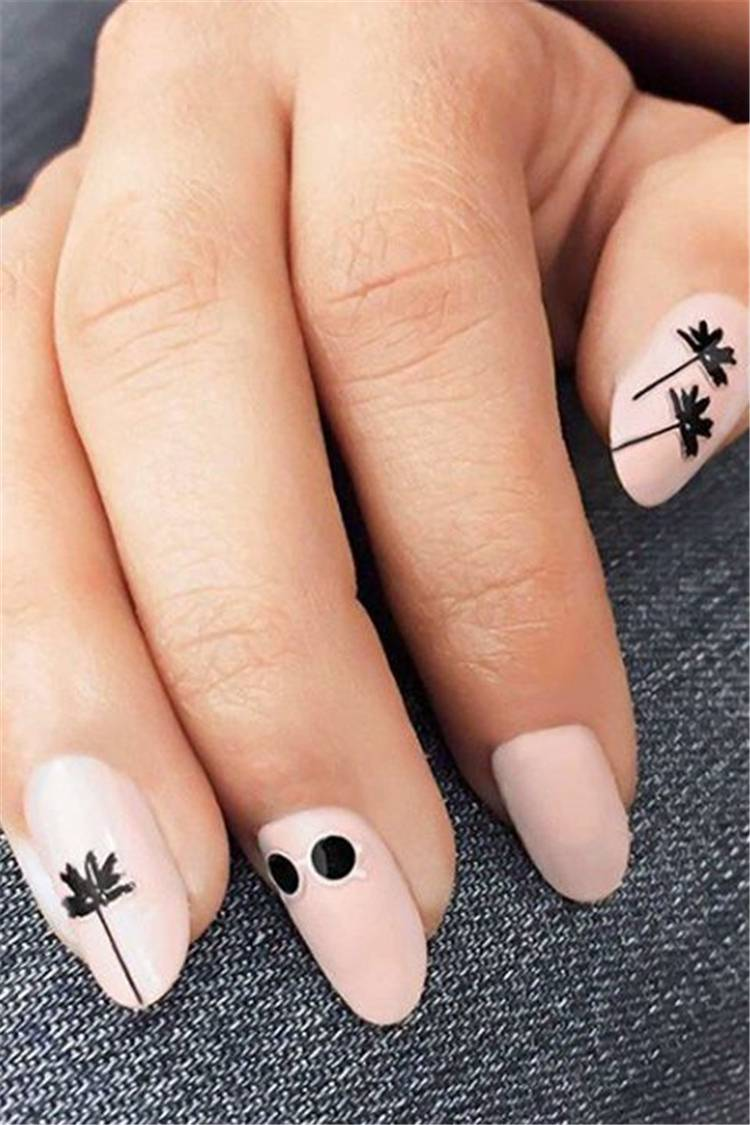 Gorgeous And Cute Summer Nail Designs You Need To Copy ASAP; Summer Nails; Summer Nail Designs; Cute Nails; Gorgeous Nails; Cute Summer Nails; #nail #summernail #cutenail #summernaildesign #gorgeousnail