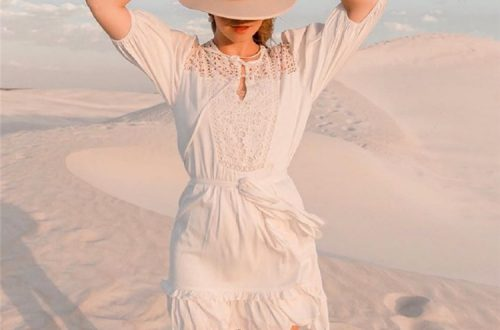 Pretty White Summer Dresses You Would Obsessed With 2020; White Dress; Summer Dress; White Summer Dress; Trendy Dress; Lace Dress; Cotton Dress; Simple Dress; Casual Dress; #whitedress #summerdress #whitesummerdress #casualdress #lacedress