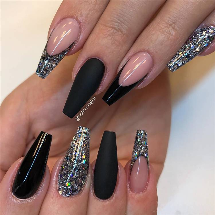 Best Coffin Nail Designs You Should Copy In 2020; Simple Nails; Coffin Nail; Coffin Nail Designs; Acrylic Coffin Nail Designs; Best Acrylic Coffin Nail; Holiday Nails; #summernail#summercoffinnails#coffinnail#acryliccoffinnails#holidaynails#nails#naildesign