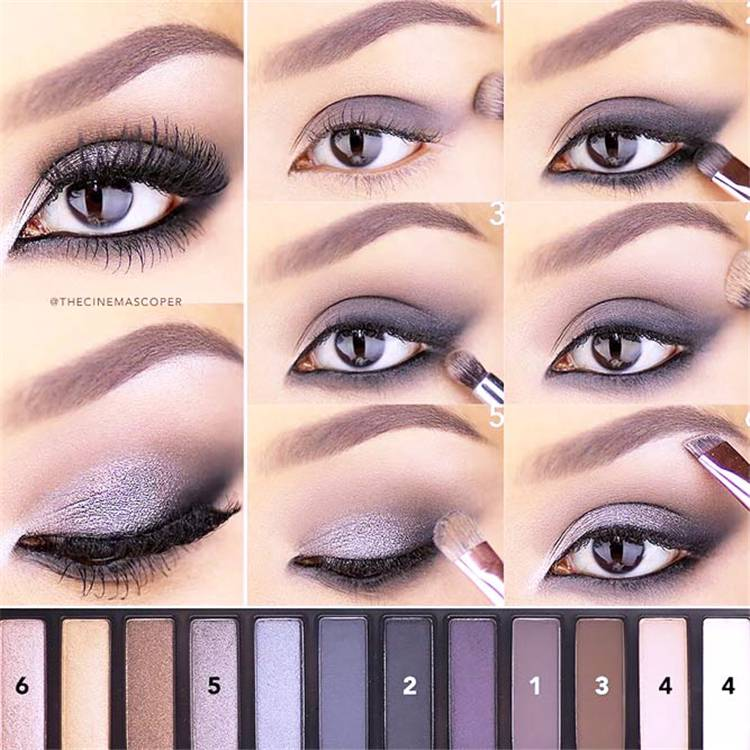 How To Have A Perfect And Easy Smokey Eye Makeup; Makeup Ideas; Makeup; Smokey Makeup; Smokey Makeup Ideas; Easy Makeup; Easy Smokey Makeup; Eye Makeup#makeup#eyemakeup#smokeymakeup#makeupidea