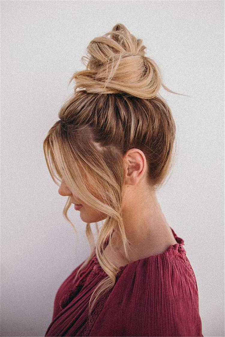 Easy And Time Saving Back To School Hairstyles You Must Love; Time Saver Hairstyle; Attractive Hairstyle; Hairstyle; Quick Hairstyle; Easy Hairstyle; Summer Hairstyle; School Hairstyle; School Ponytail; School Space Bun; School Top Knot; #hairstyle #quickhairstyle #schoolhairstyle #easyhairstyle #ponytail #topknot #fishtail #spacebun