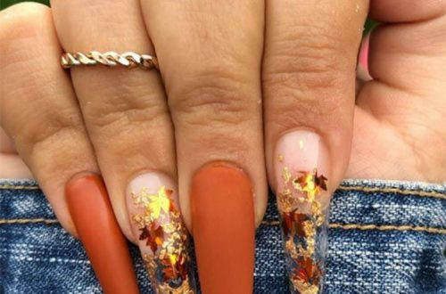 Gorgeous Fall Nail Designs You Must Copy Right Now; Fall Nail; Autumn Nail; Fall Nail Design; Nail Design; Fall Square Nail; Fall Coffin Nail; Fall Almond Nail; Fall Stiletto Nails; Nails; Fall Nail Color #fallnail #fallnaildesign #autumnnail #nail #falllongnails #fallsquarenail #fallstilettonail #fallcoffinnail #coffinnail