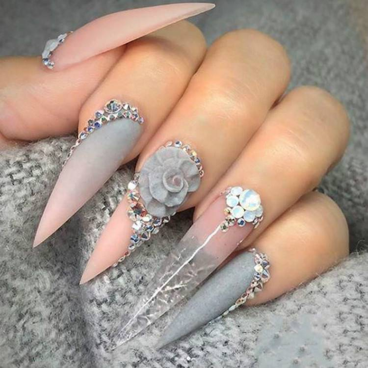 Cute And Sexy Pink Nail Designs You Need To Copy Right Now; Cute Pink Nail Art Designs; Sexy Pink Nail; Pink Nail; Nail Art Designs; Pink Coffin Nail; Square Pink Nail; Stiletto Nail; Almond Nail #nail #nailart #Coffinpinknail #pinknail #pinknail #coffinnail #squarenail #stilettonail