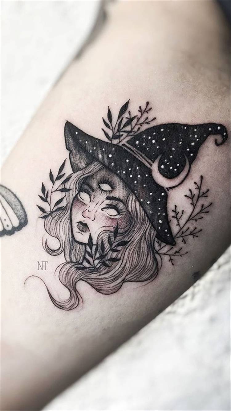 Amazing And Gorgeous Halloween Tattoo Designs You Must Love; Halloween Tattoo; Halloween; Tattoo; Tattoo Designs; Pumpkin Tattoo; Ghost Tattoo; Bat Tattoo; Scary Tattoo #tattoo #halloween #halloweentattoo #pumpkintattoo #ghosttattoo #battattoo #scarytattoo