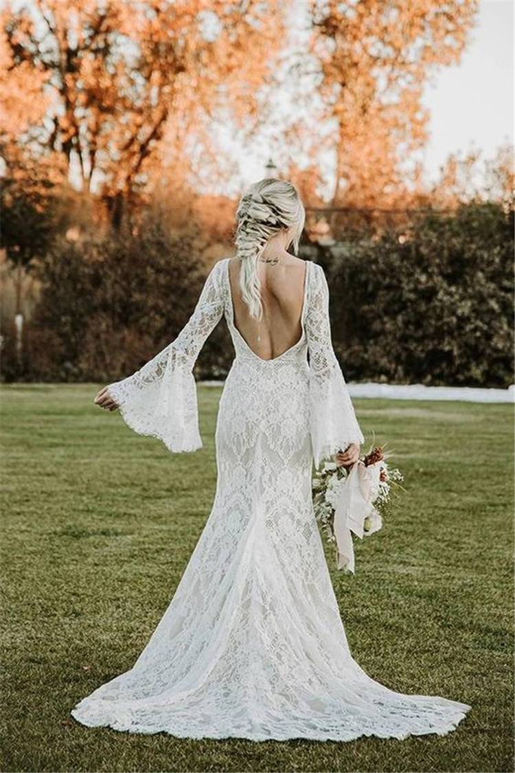 Gorgeous And Elegant Fall Wedding Dresses For Your Big Day;Gorgeous Wedding Dress; Breath Taking Wedding Dress; White Wedding Dress; Brand Wedding Dress; Off The Shoulder Lace Wedding Dresses; Lace Long Sleeves Wedding Dress; Fall Wedding Dress; Red Wedding Dress;Purple Wedding Dress #falldress#fallweddingdress#weddingdress#whiteweddingdress#longsleeveweddingdress #redweddingdress #mermaidweddingdress #purpleweddingdress