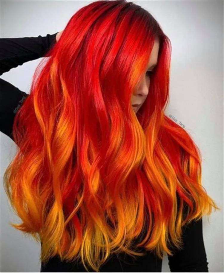 Stunning Red Hairstyles You Must Fall In Love With; Red Hair; Red Hairstyle; Hairstyle; Red Short Hairstyle; Bob Haircut; Pixie Haircut; Wave Hairstyle; Cute Hairstyle; Red Hair Color; Ginger Copper Hair Color #hair #hairstyle #redhair #redhairstyle #redpixiehaircut #haircut #bobredhairstyle #haircolor #redhaircut