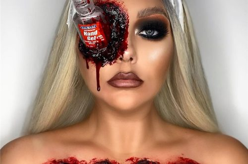 Scary And Creepy Halloween Makeup Ideas You Must Follow; Halloween Makeup; Halloween; Clown Halloween Makeup; Dolly Halloween Makeup; Pumpkin Halloween Makeup; Demon Halloween Makeup;#halloween #halloweenmakeup #makeup #scarymakeup #demonmakeup #clownmakeup #pumpkinmakeup