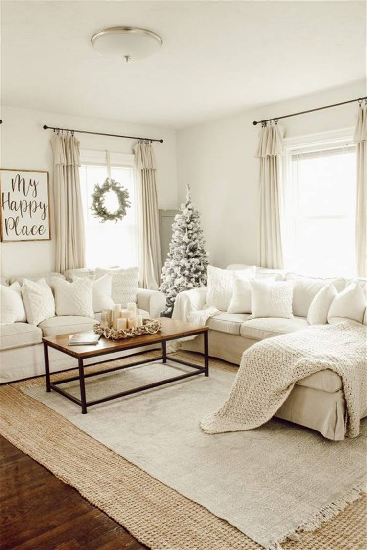 Gorgeous And Comfortable Winter Living Room Decoration Ideas For You; Modern Living Room; Rustic Living Room Decoration; Winter Living Room; Living Room Decoration Ideas; #livingroom #livingroomdecoration #decor #rusticlivingroom #boholivingroom #comfylivingroom #modernlivingroom #winterlivingroom #winterdecoration #winterlivingroomdecoration