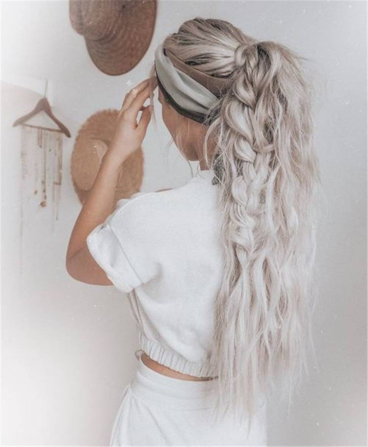 Chic And Gorgeous Accent Braid Hairstyles To Copy Right Now; Briad; Braid Hairstyles; Hairstyles; Hair Ideas; Hair; Briaded Ponytail; Ponytail; Briaded Pigtail; Bubble Braid Hairstyle; Updo Briaded Hairstyle #hairstyle #braidedhairstyle #accentbraid #hair #hairidea #ponytail #braidedponytail #braidpigtail #braidedupdo