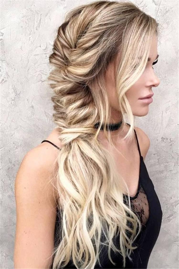 Chic And Gorgeous Accent Braid Hairstyles To Copy Right Now; Briad; Braid Hairstyles; Hairstyles; Hair Ideas; Hair; Briaded Ponytail; Ponytail; Briaded Pigtail; Bubble Braid Hairstyle; Updo Briaded Hairstyle #hairstyle #braidedhairstyle #accentbraid #hair #hairidea #ponytail #braidedponytail #braidpigtail #braidedupdo