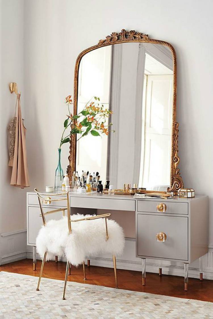30 Gorgeous Makeup Vanity Table Designs For Your Beauty Inspiration Women Fashion Lifestyle Blog Shinecoco Com