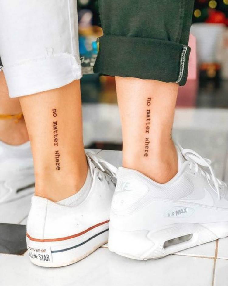 Romantic And Sweet Couple Matching Tattoo Designs For You; Couple Tattoo Ideas; Couple Tattoos; Matching Couple Tattoos;Simple Couple Matching Tattoo;Tattoos; #Tattoos#Coupletattoo#Matchingtattoo#valentine's#valentine'stattoo