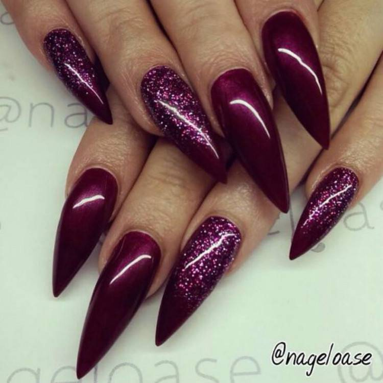 Stunning Burgundy Nail Designs You Should Try In 2021; Burgundy Nails; Nails; Nail Design; Burgundy Nail Color; Nail Color; Burgundy Square Nails; Burgundy Coffin Nails; Burgundy Stiletto Nails #nails #naildesign #burgundynail #burgundynaildesign #burgundycolor #coffinnail #stilettonail #squarenail #burgundycoffinnail #burgundystilettonail