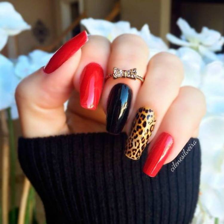 Gorgeous Red And Black Nails To Try In 2021; Black And Red Nail Art Designs; Nail; Nail Designs; Black And Red Nail; Nail Art Designs; Black And Red Nail Art Designs;#nail#nailart#blackandrednail#blacknail#rednail #blackandredsqaurenail #blackandredcoffinnail #blackandredstilettonail #stiletto #square #coffin