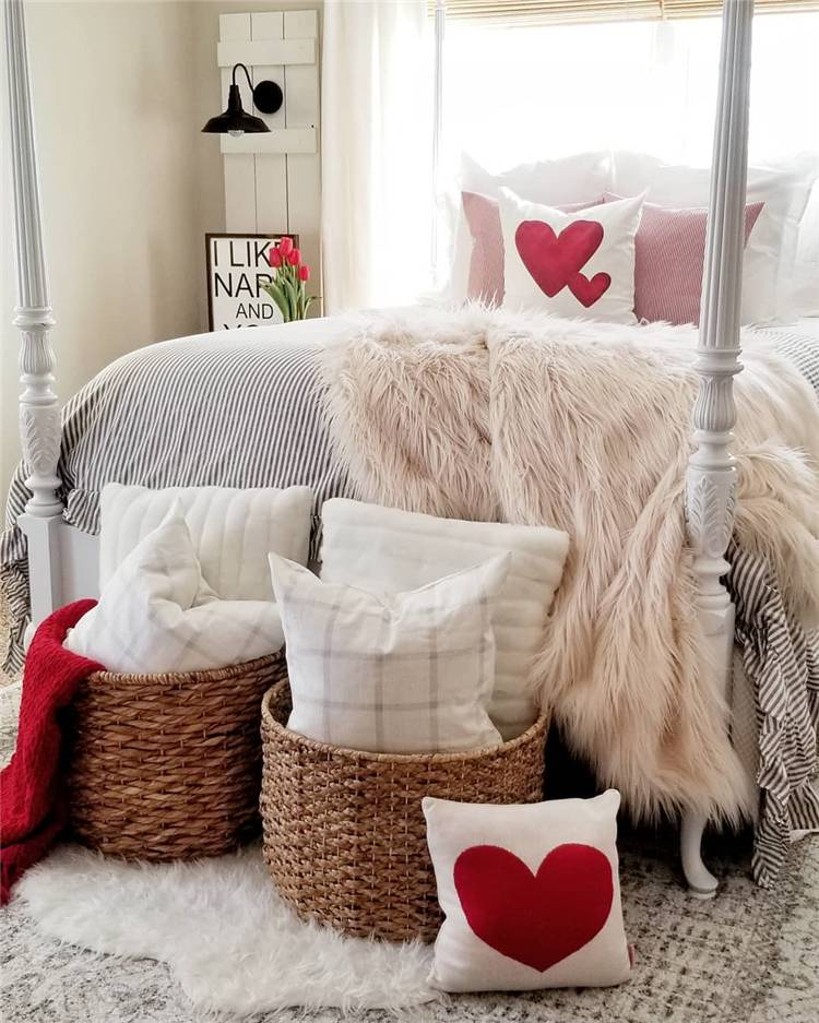 Fabulous And Sweet Valentine's Day Bedroom Decoration Ideas; Home Decor; Bedroom; Bedroom Decoration; Bedroom Decor; Bedroom Arrangement; Valentine Bedroom; Valentine's Bedroom Decor; Bedroom Design;#bedroom#bedroomdecoration#bedroomdecor#valentinebedroom#valentine'sbedroom#bedroomdesign#Valentine #Valentine'sday #Valentine'sdate