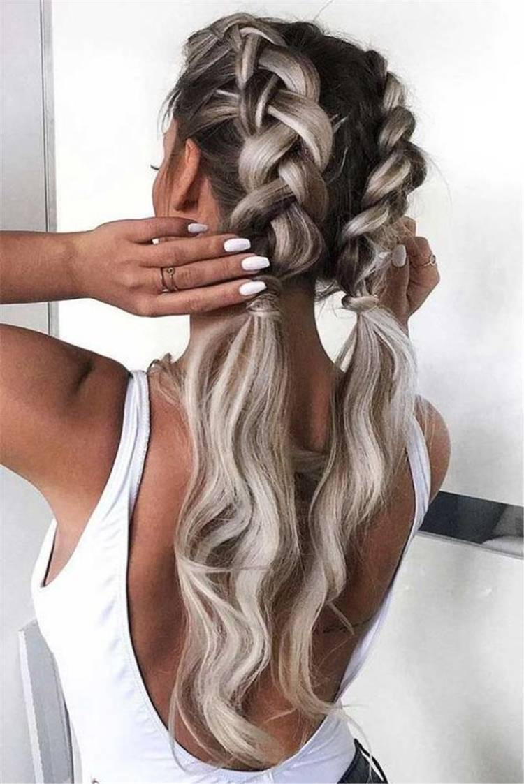 Cute Valentine's Hairstyles To Make Your Life Sweet; Hairstyle; Hair Idea; Valentine's Hairstyles; Valentine's Day; Pretty Hairstyles; Easy Hairstyles; Ponytail; High Bun Hairstyles; Low Bun Hairstyles; Boxer Hairstyle #Valentine #Valentine'sDay #hairstyles #easyhairstyles #boxerhairstyle #ponytail #bunhairstyles #lowbunhairstyles