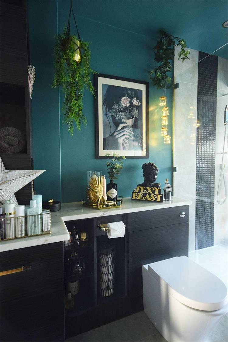 Amazing Spring Bathroom Decoration Ideas With Different Accents; Home Decor; Bathroom Decor; Bathroom; Spring Bathroom; Spring Home Decor; Flower Home Decor; Cozy Bedroom; Spring Accent;#homedecor#springhomedecor#bathroom#springbathroom#bathroomdecor#floralbathroom#springaccent#pinkbedroom#yellowbathroom#redaccentbathroom