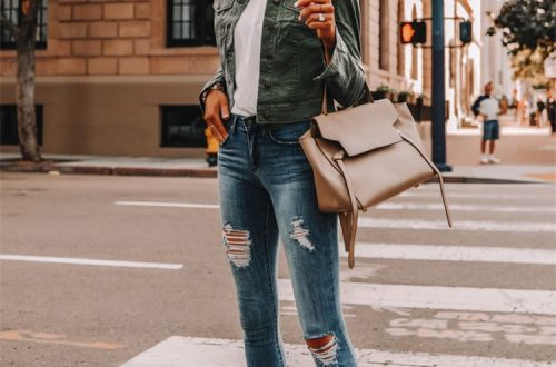 Gorgeous Spring Outfits You Need To Update Your Wardrobe; Spring Outfits; Outfits; Spring Striped Shirts; Spring Ripped Jeans Outfits; Long Dress Outfits; Spring Dress; Spring Dress Outfits; Cute Spring Outfits;Spring#springoutfits#outfits#springshirtoutfits#springdress#springrippedjeans#springlongdress#springstirpedshirt