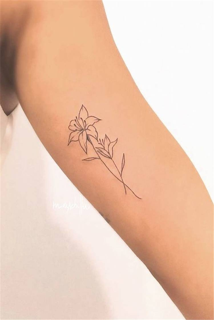 Gorgeous Spring Floral Tattoo Designs You Need Now; Floral Tattoo; Tattoo Design; Tattoo; Spring Floral Tattoo; Tulip Tattoo; Lily Tattoo; Cherry Blossom Tattoo; Flower Tattoo; Arm Tattoo; Finger Tattoo #tattoo #tattoodesign #floraltattoo #rosetattoo #tuliptattoo #lilytattoo #armtattoo #fingertattoo #watercolortattoo #springflower #springflowertattoo #cherryblossomtattoo