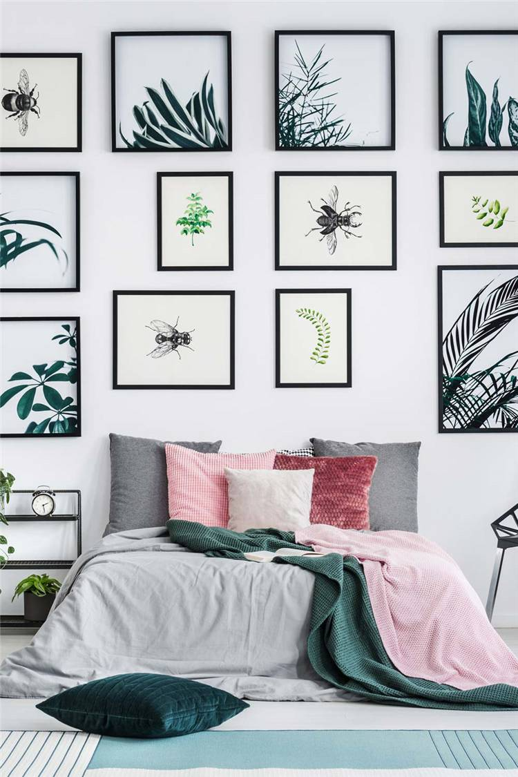 Creative And Gorgeous Wall Decoration Ideas For Your Sweet Home;Home Decor; Wall Decor; Wall Decoration; Living Room Wall Decor; Bedroom Wall Decor; Wall Design; #walldecor #walldecoration #homedecor #mirrorwall #picturewalldecor #photowalldecor #clockwalldecor