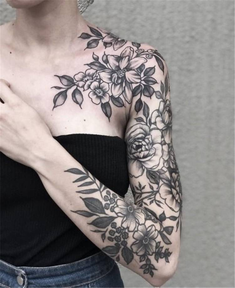Gorgeous Sleeve Tattoo Designs You Must Fall In Love With; Awesome Sleeve Tattoos; Sleeve Tattoos; Sleeve Tattoos For Women; Arm Tattoos; Arm Sleeve Tattoo; Floral Sleeve Tattoo; Inspirational Sleeve Tattoos; Mandala Sleeve Tattoo; Floral Tattoo; Floral Sleeve; #sleevetattoo #sleeve #tattoo #floraltattoo #sleevefloraltattoo #mandalasleevetattoo #creativesleevetattoo #fullsleevetattoo