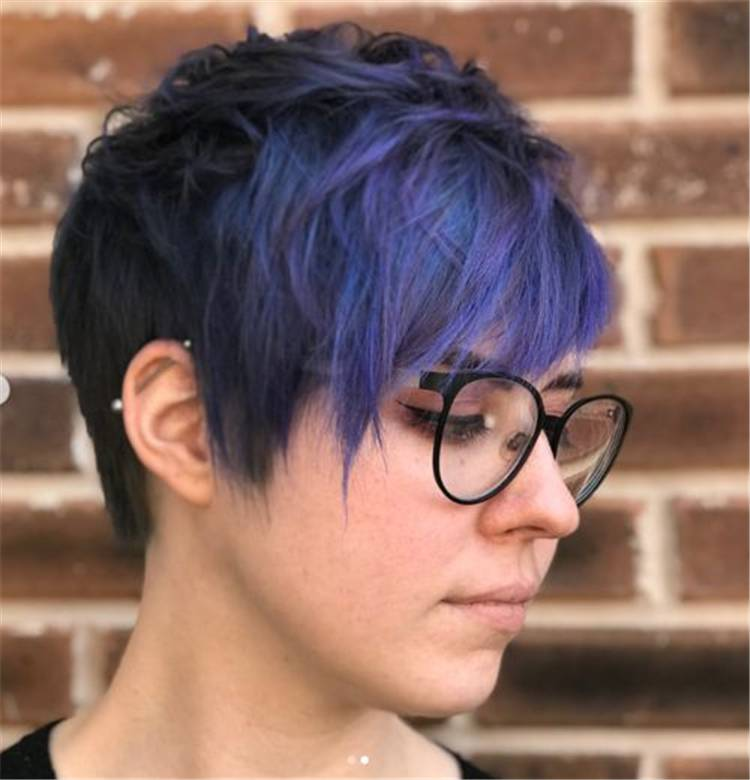 Gorgeous And Coolest Pixie Haircuts For Your Summer Fantasy; Pixie Hairstyles; Pixie Haircuts; Pixie Haircuts Or Hairstyles For You; Haircut; Hairstyle; Stylish Haircut; Stylish Hairstyles; Blond Pixie Haircut; Pink Pixie Haircut; Purple Pixie Haircut; #pixiehaircut #pixiehairstyle #shortpixie #shortpixiehair #stylishhair #stylishhairstyle #shorthaircut #blondpixiehaircut #pinkpixiehaircut #purplepixiehaircut