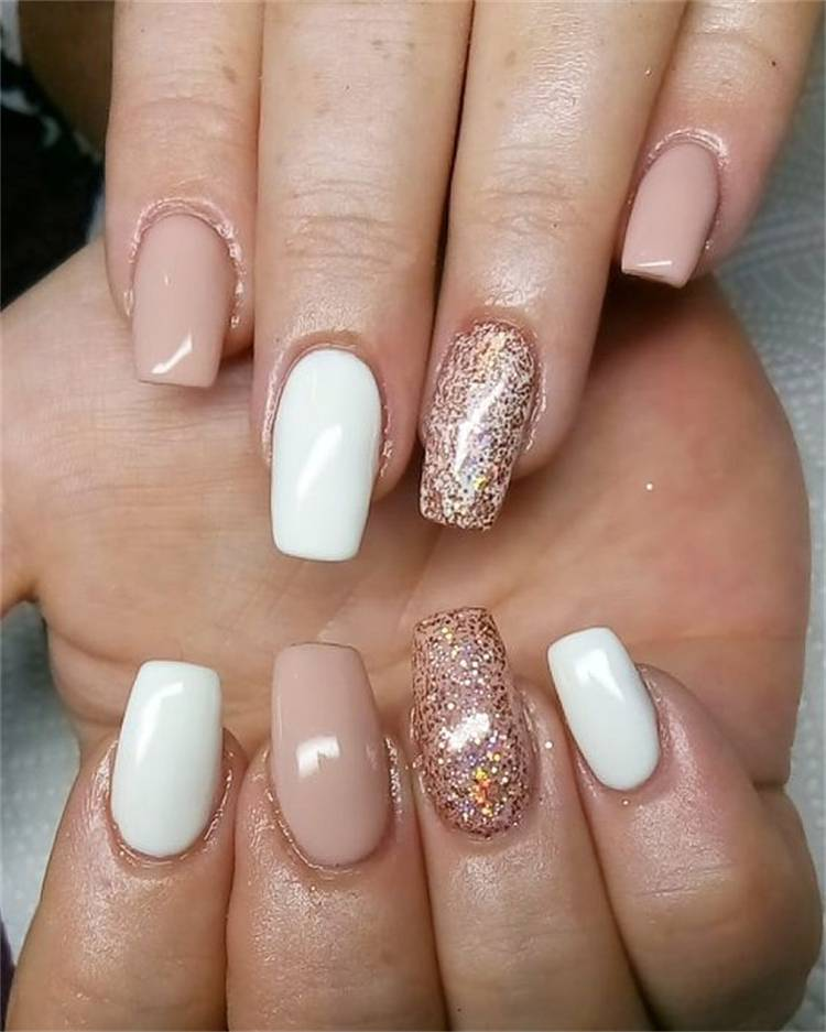 Amazing Graduation Nail Designs For Your Big Day; Nail; Nail Design; Graduation Nail Design; Glitter Nail Designs; Triangle Nail Designs; Lovely Graduation Nail; #glitternail #trianglenaildesign #nail #naildesign #graduationnail #graduationnaildesign